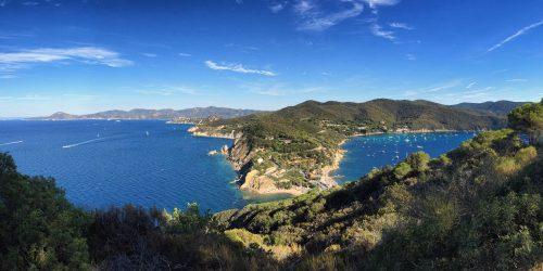 Utsikt över Elba
