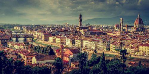 Utsikt över Florens/Florence
