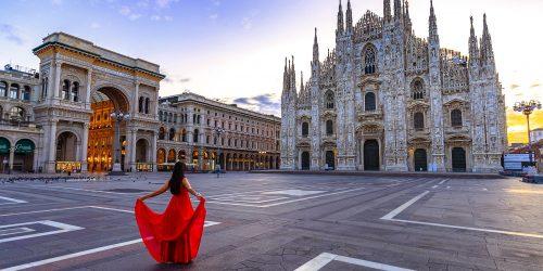 Duomen i Milano Milan